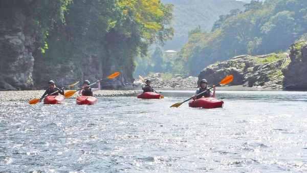 長瀞川下り体験/10年続いたプログラム