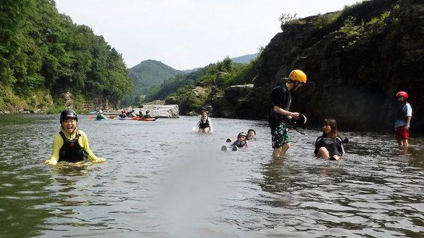 長瀞のカヤック体験とスクール/さぁ夏ですよ!
