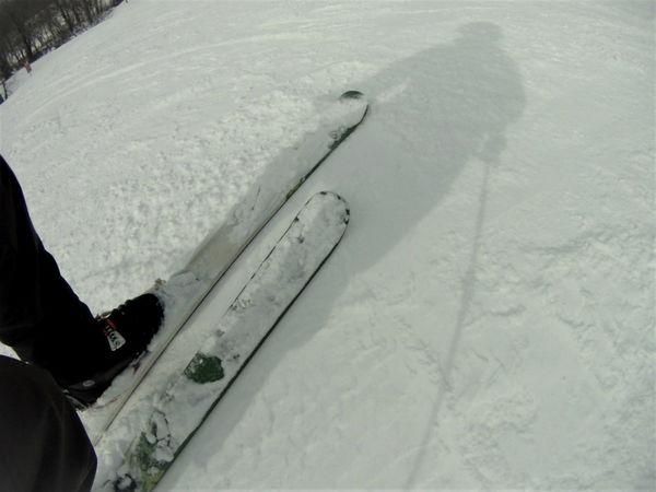 スキーが走るコンディション